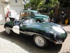 Navigate to Lot 235 - 1968 12947 D-Type Replica by RAM