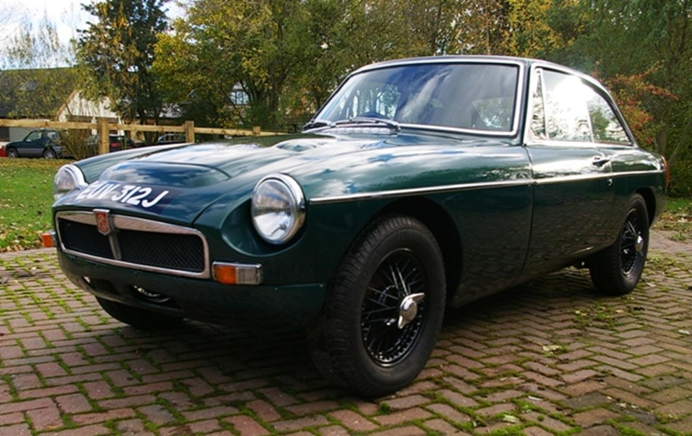 Lot 208 - 1971 MG BGT Supercharged
