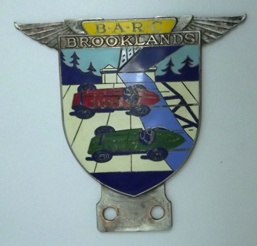 Lot 110 - BARC badge