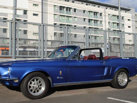 Ford Mustang GT350 Convertible
