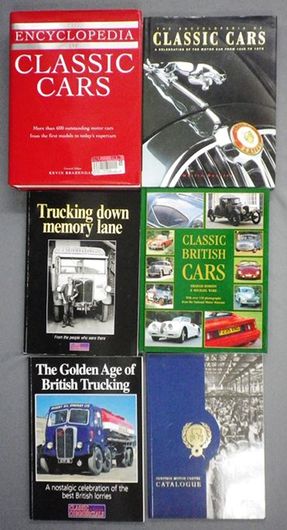 Lot 4 - 15 motoring books