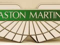 Navigate to Aston Martin sign.