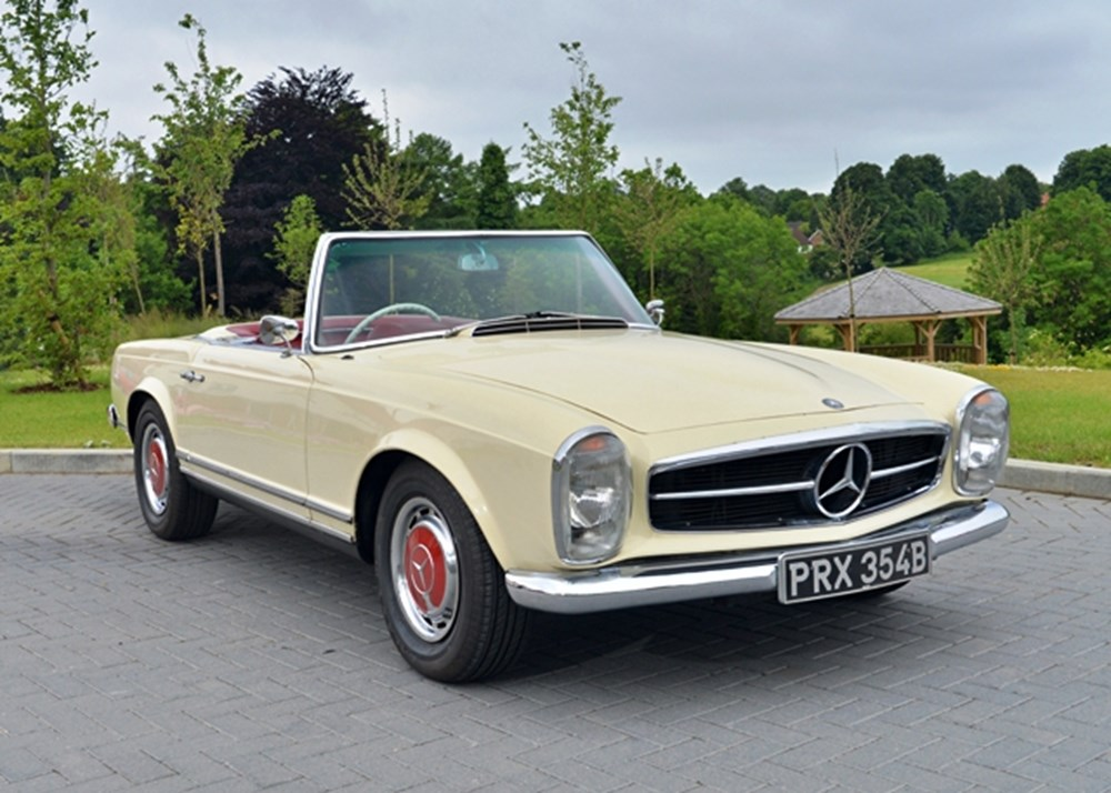 Lot 177 - 1964 Mercedes-Benz 230 SL Roadster
