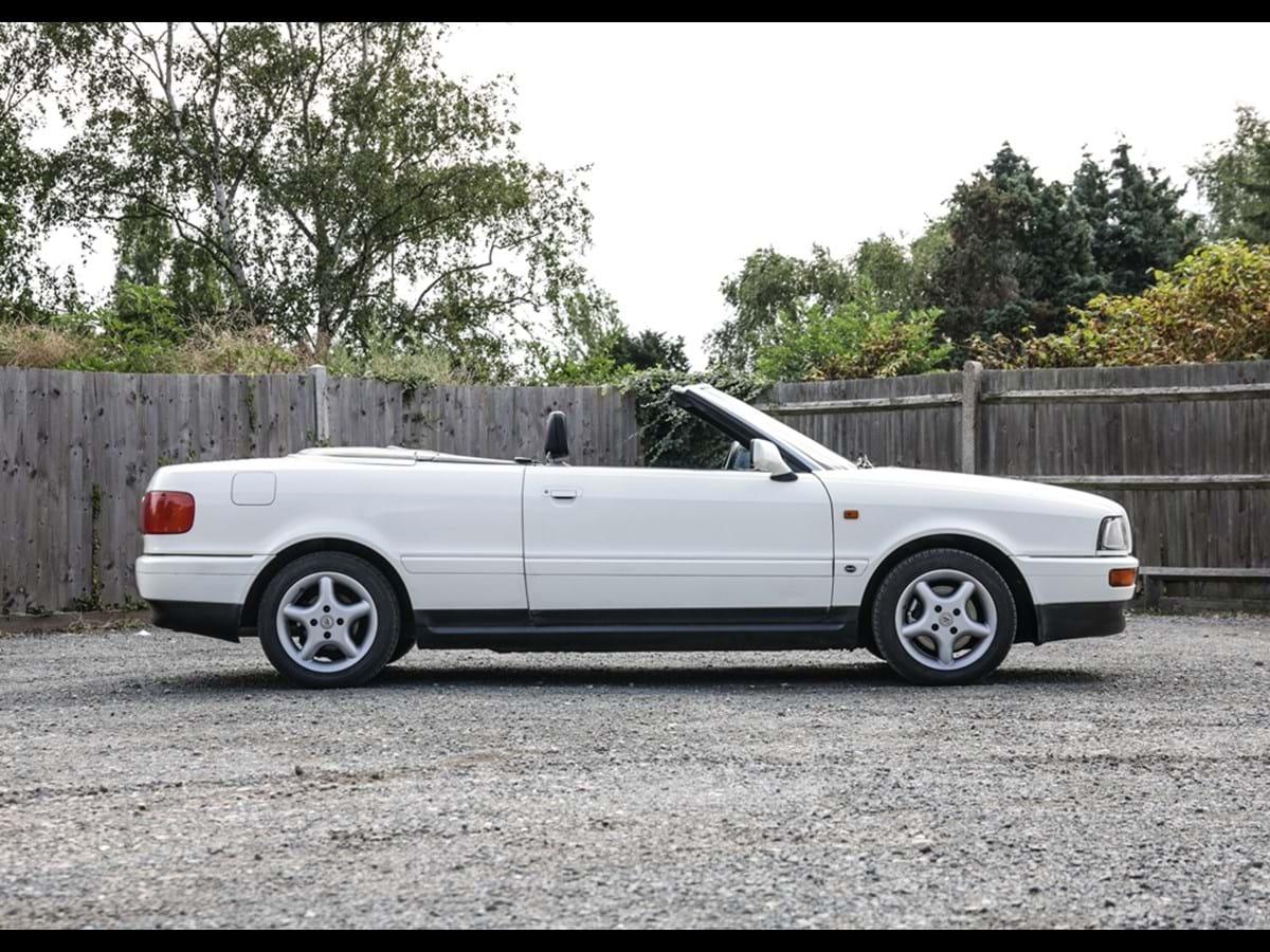 Lot 104 - 1993 Audi 80 Cabriolet