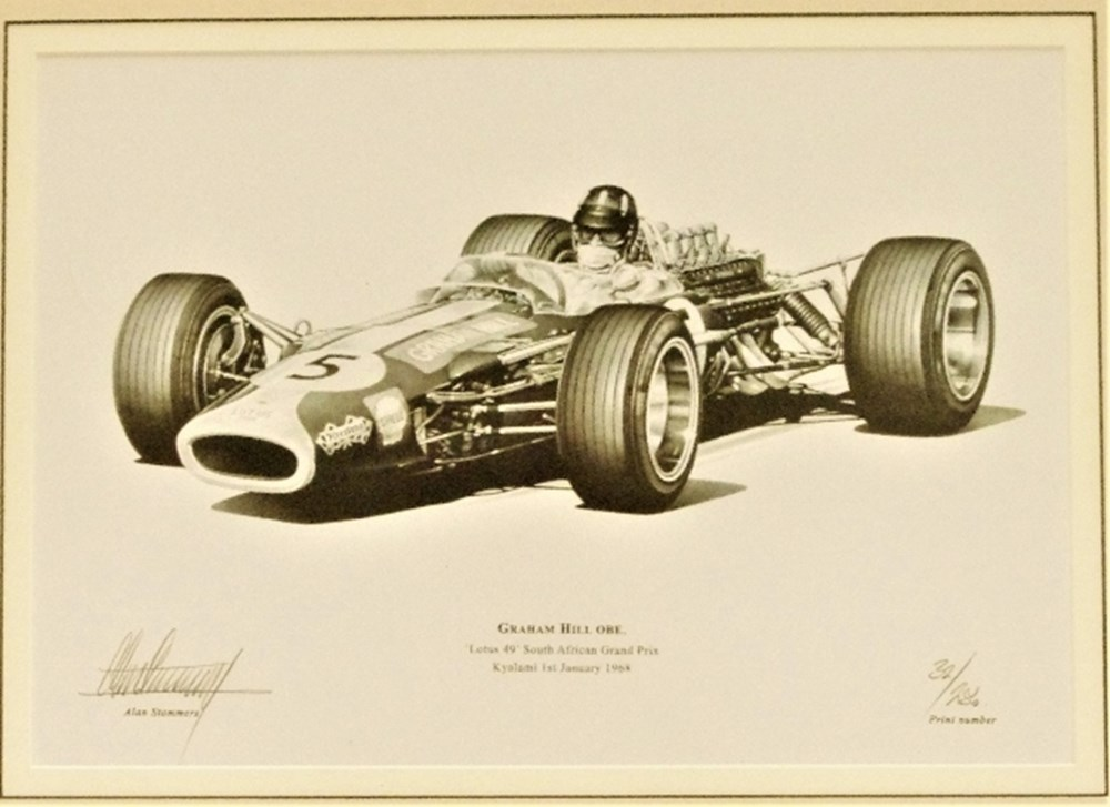 Lot 69. - Graham Hill print