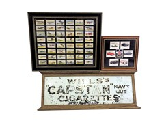 Navigate to A Wills Capstan cigarettes glass display sign ...