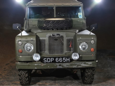 REF 55 1969 Land Rover Series IIA 88""