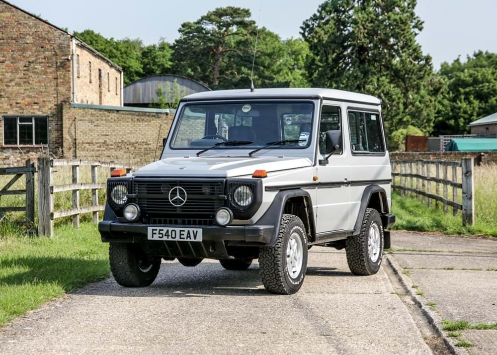 Lot 266 - 1989 Mercedes-Benz G Wagon 300GD