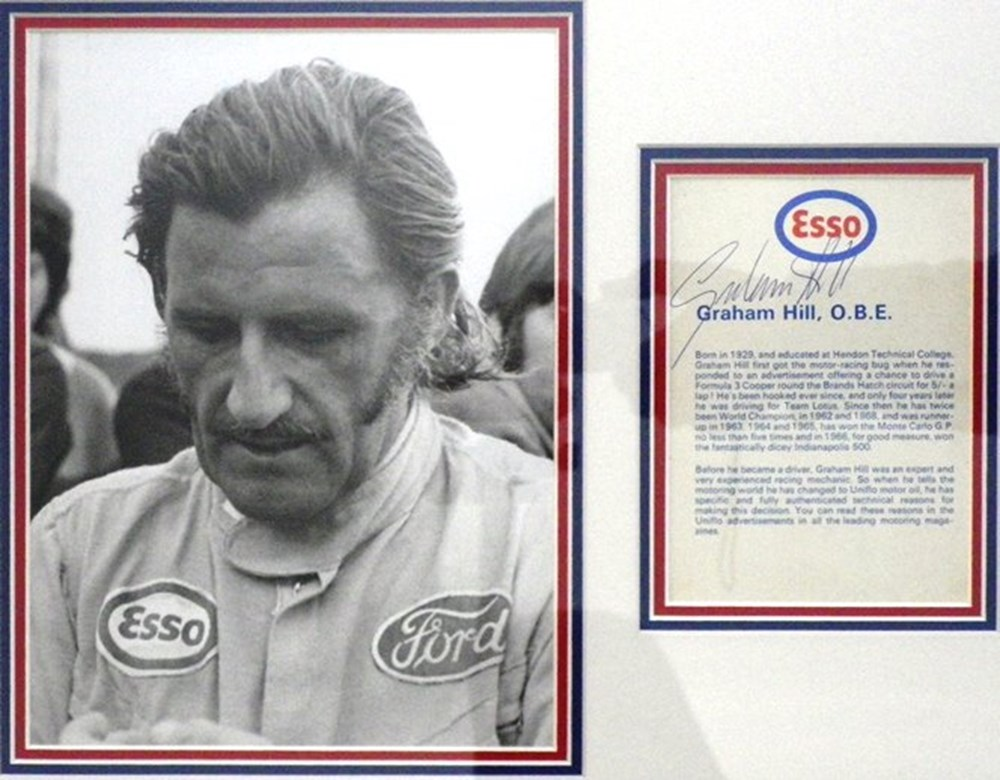 Lot 106 - Graham Hill Photo