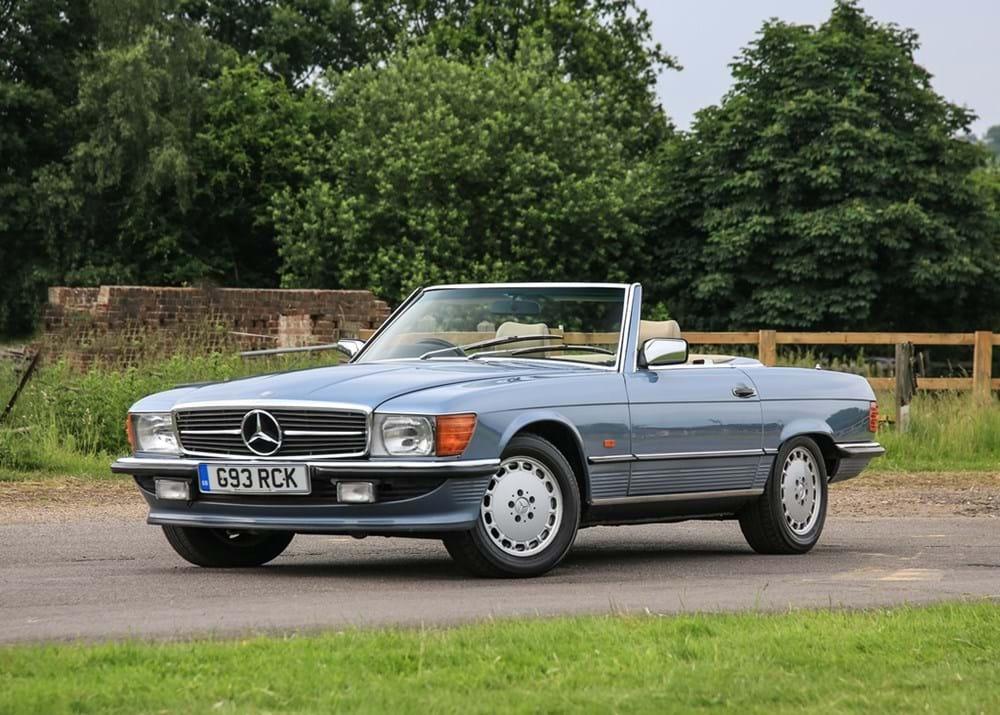 ref 91 1989 mercedes-benz 300 sl roadster