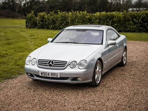 Ref 124 2000 Mercedes-Benz CL600