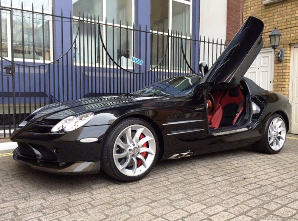 Lot 198 - 2008 Mercedes-Benz SLR McLaren Roadster