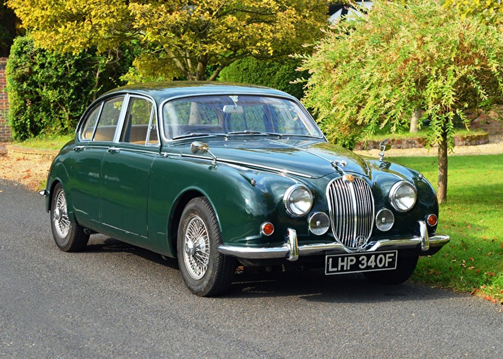 Lot 238 - 1967 Jaguar 340 Saloon (Man O/D)