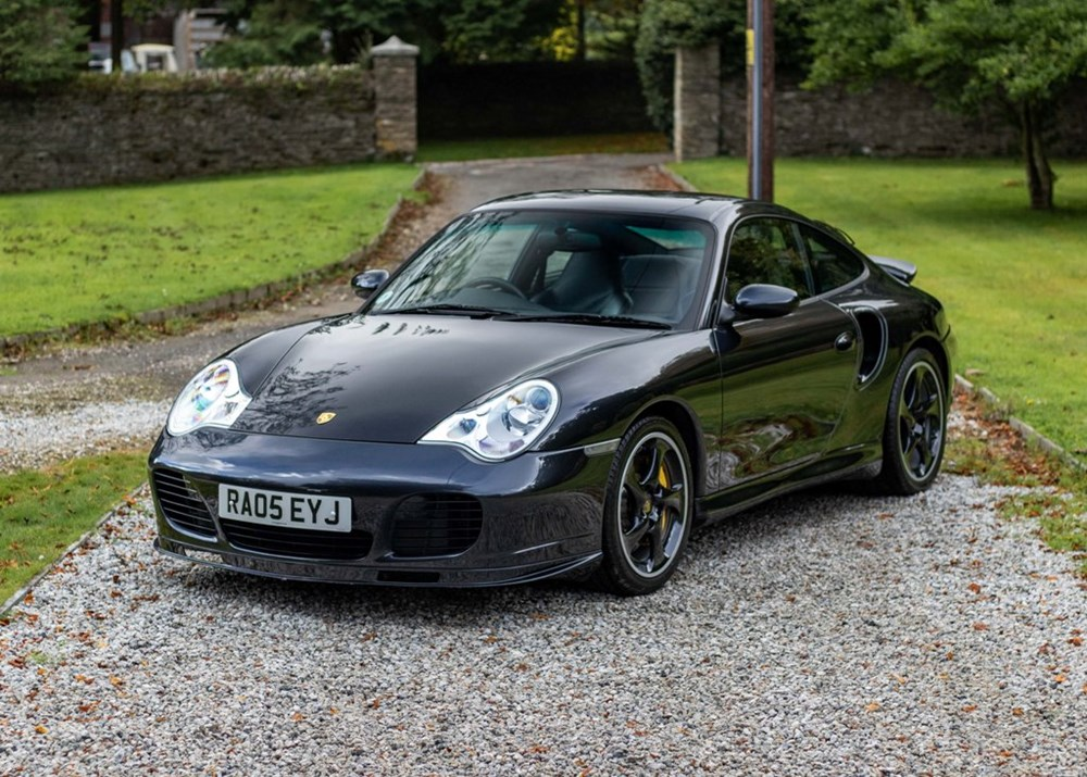 Lot 157 - 2005 Porsche 911 996 Turbo S