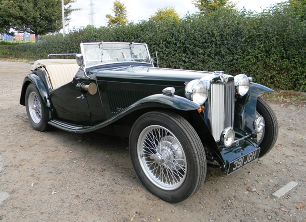 Lot 270 - 1949 MG TC