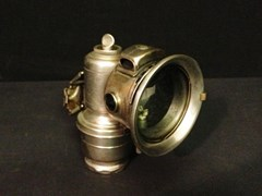 Navigate to Lot 202 -   Lucas Motor-cycle carbide lamp