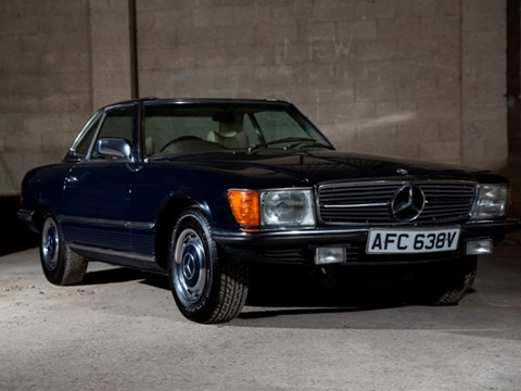 Ref 59 1979 Mercedes-Benz 350 SL Roadster