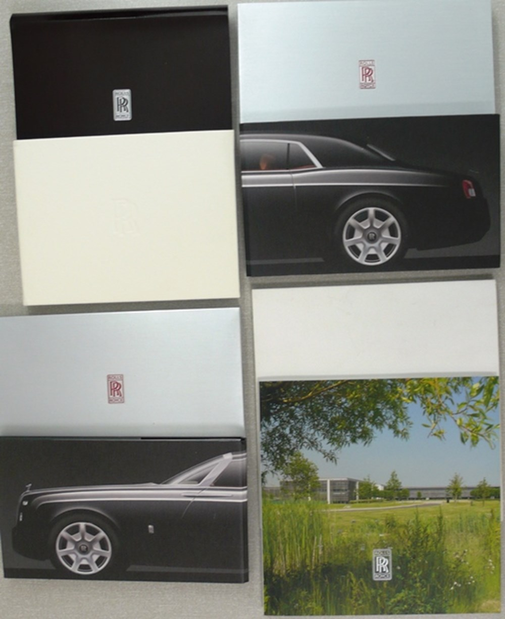 Lot 117 - Rolls-Royce brochures