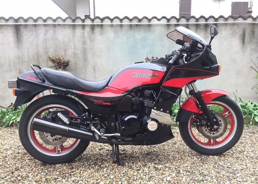 Ref 33 1984 Kawasaki GPZ 750 Turbo