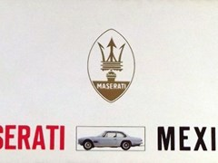 Navigate to Two Maserati brochures