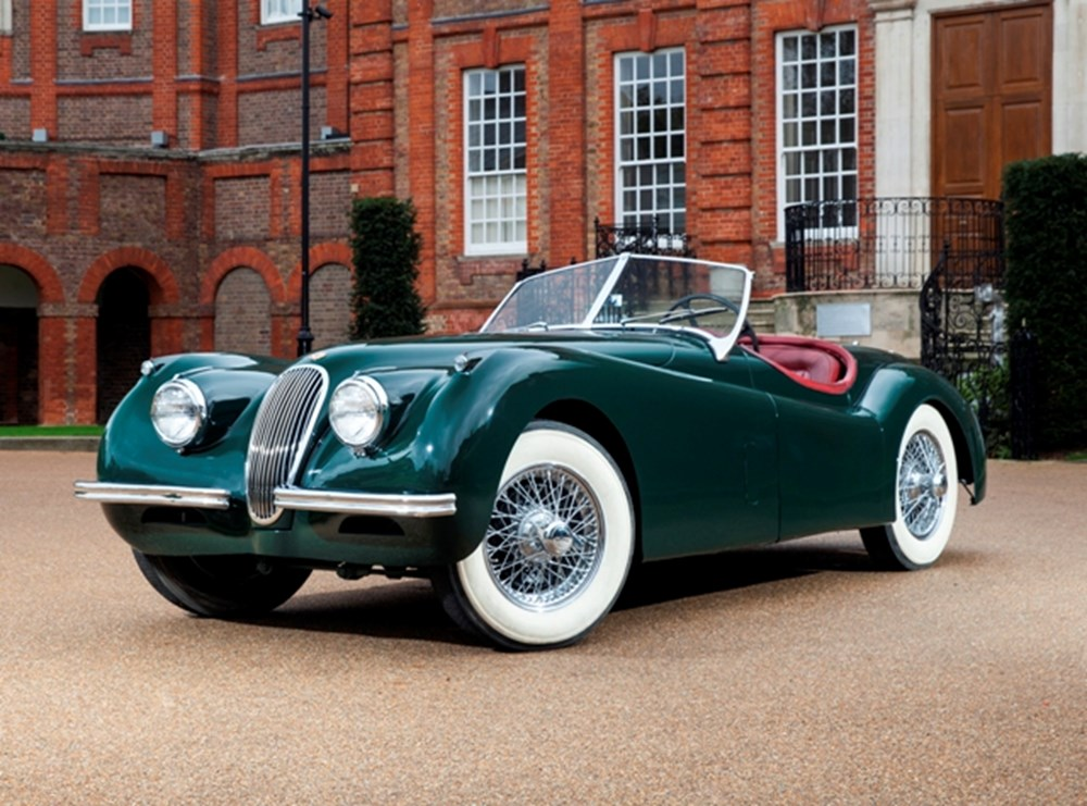 Lot 283 - 1954 Jaguar XK120SE Roadster