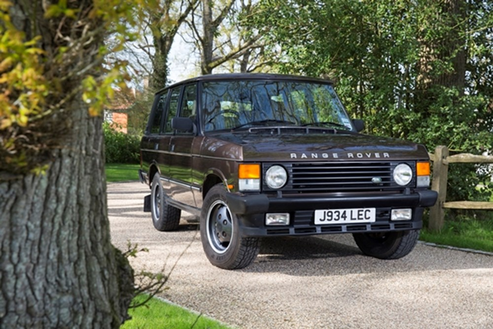Lot 224 - 1991 Range Rover Vogue Classic