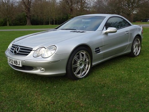 Ref 163 2002 Mercedes-Benz SL 500 Roadster