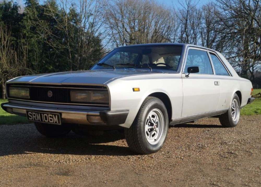 Lot 348 - 1974 Fiat 130 Pininfarina Coupé