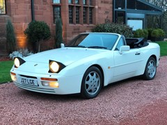 Navigate to Lot 161 - 1991 Porsche 944 Turbo Cabriolet