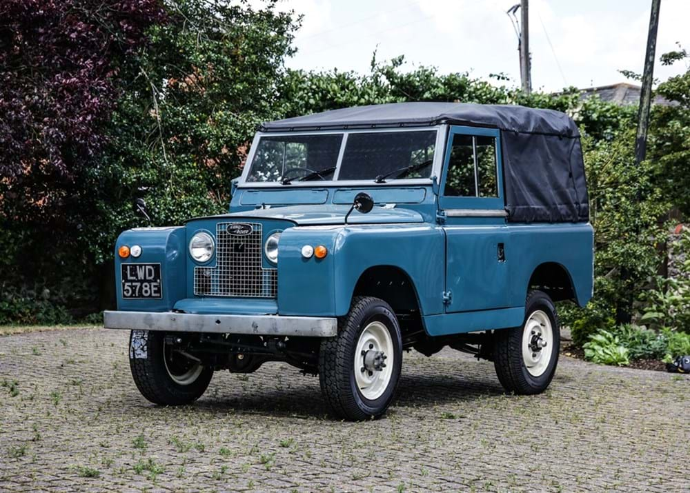 Lot 126 - 1967 Land Rover Series II Soft Top (88'')