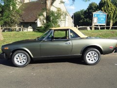 Navigate to Lot 219 - 1981 Fiat 124 Turbo Convertible