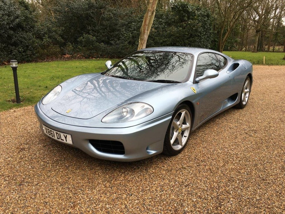 Lot 160 - 2000 Ferrari 360 Coupé