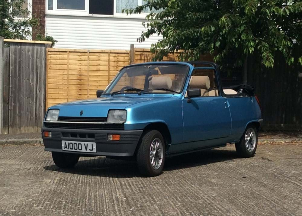 Lot 265 - 1983 Renault 5TX Cleveland Convertible