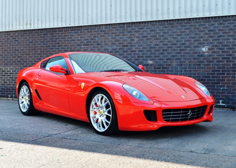 ref 94 2007 ferrari 599 gtb classic sports car auctioneers. Black Bedroom Furniture Sets. Home Design Ideas