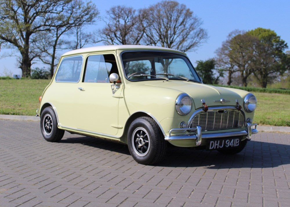 Lot 128 - 1963 Morris Mini Minor