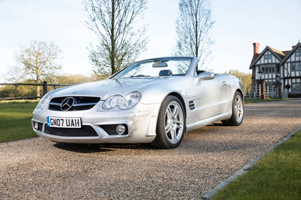 Lot 228 - 2007 Mercedes-Benz SL 55 AMG F1
