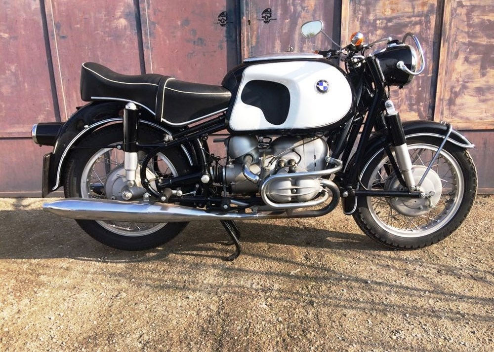 bmw r69 motorcycle