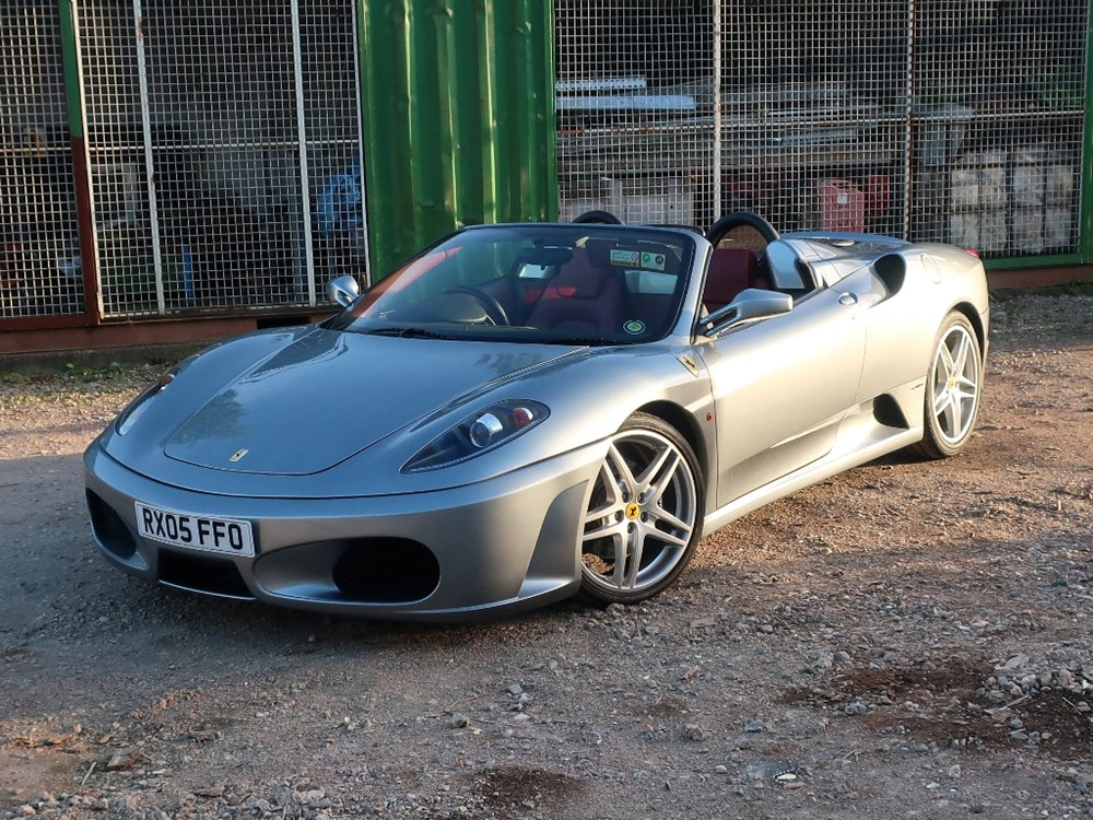 Lot 268 - 2005 Ferrari F430 Spider