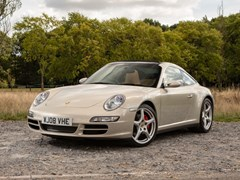 Navigate to Lot 208 - 2008 Porsche 911 Targa 4S