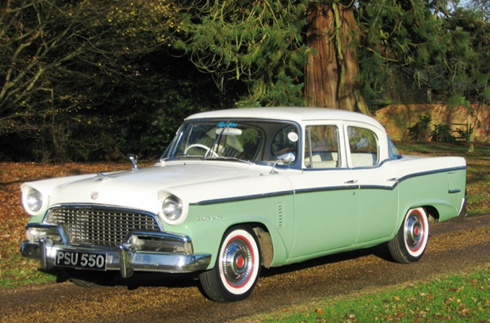 Lot 256 - 1956 Studebaker Champion