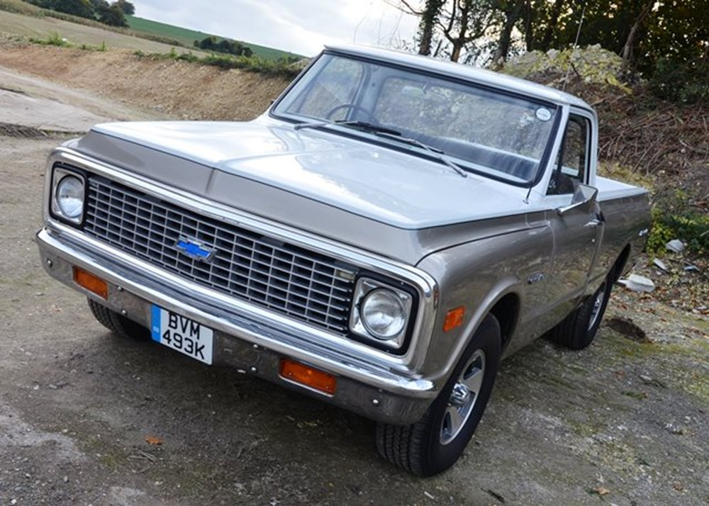 Lot 178 - 1972 Chevrolet Fleetside C10 Pick-up