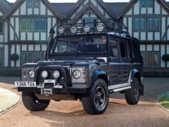 Navigate to Lot 167 - 2001 Land Rover Defender 110 'Tomb Raider' Special Vehicles Pre-production Model