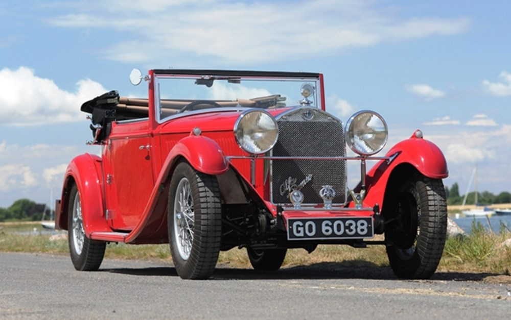 Lot 255 - 1930 Alfa Romeo 6C 1750 Gran Turismo by James Young