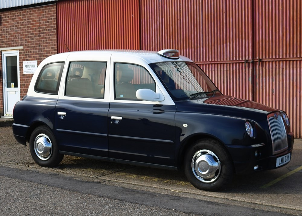 Lot 212 - 2011  London Taxi International TX4