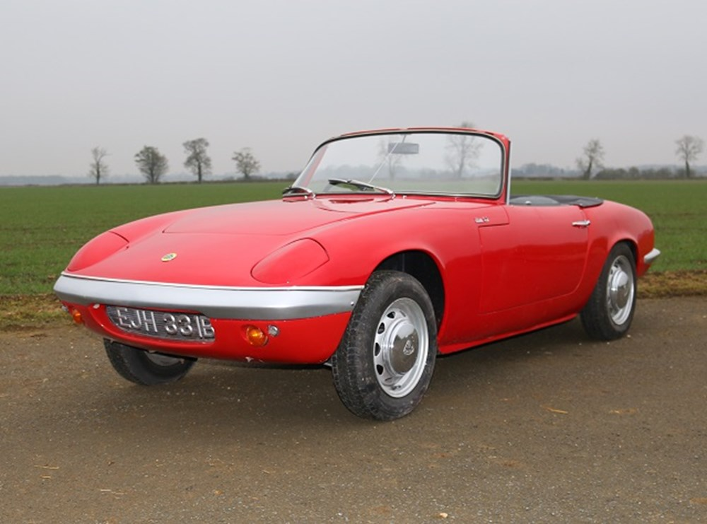 Lot 178 - 1964 Lotus Elan S2 Roadster