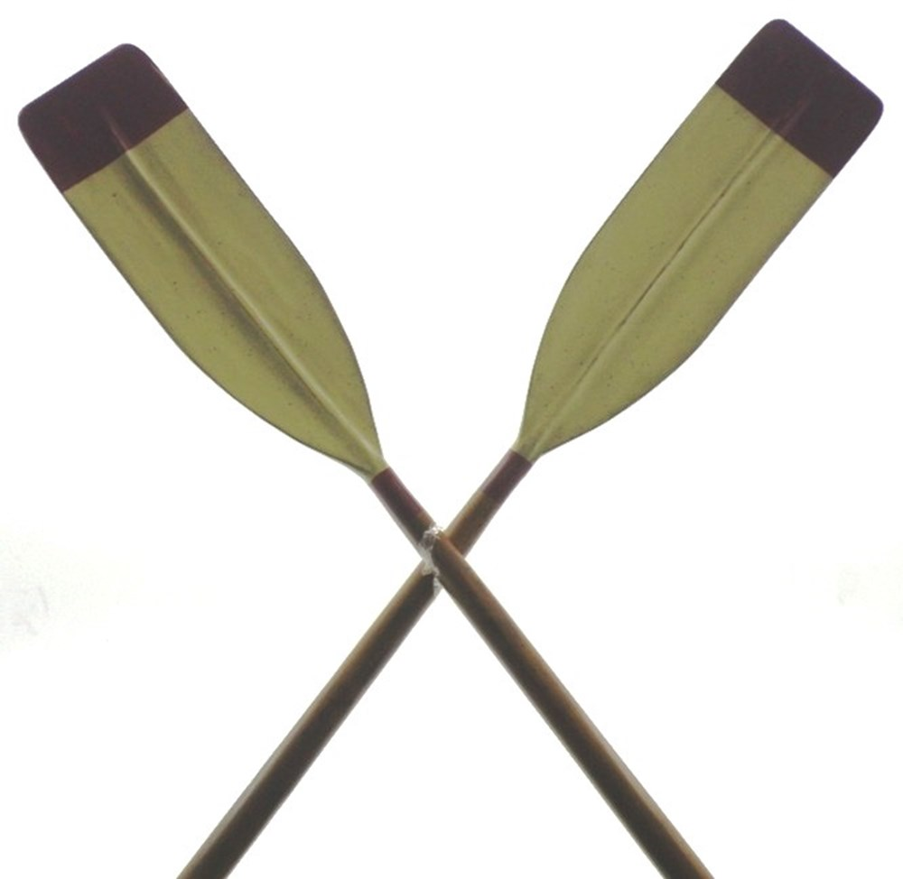 Lot 7 - A pair of rowing oars