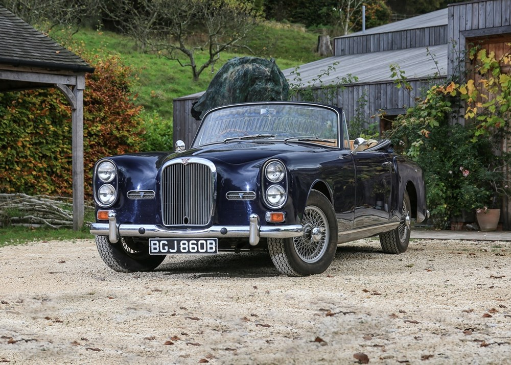 Lot 244 - 1964 Alvis TE21 Drophead Coupé by Park Ward
