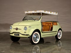 Navigate to Lot 129 - 1958 Fiat 500  'Jolly'