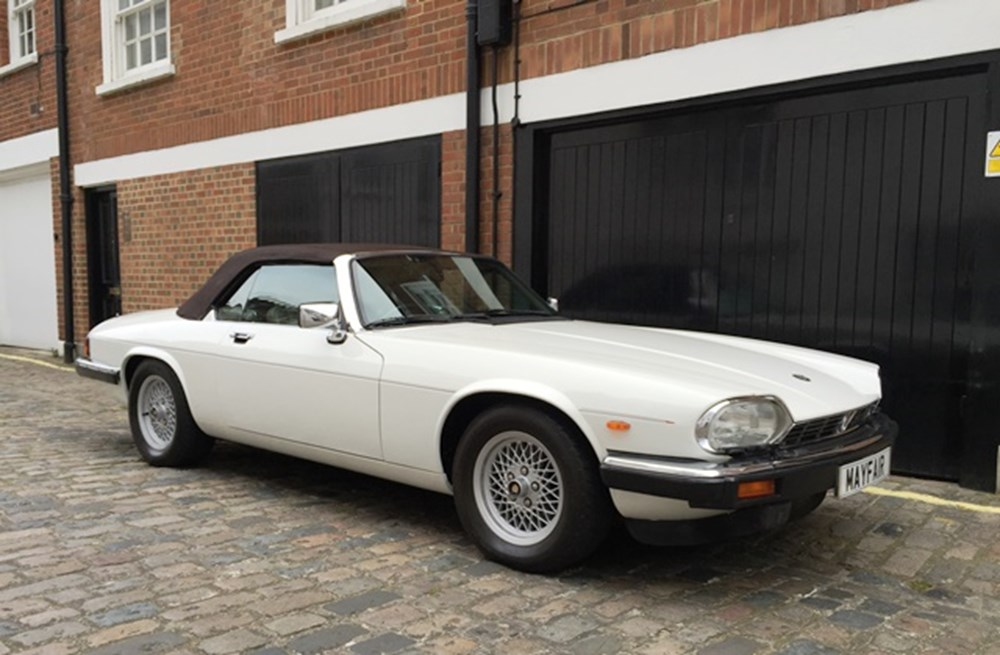 Lot 207 - 1988 Jaguar XJS Convertible