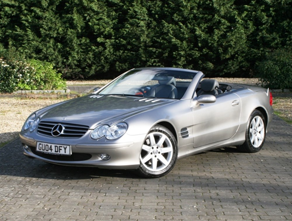 Lot 207 - 2004  Mercedes-Benz 350SL Roadster